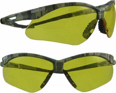 Jackson #3020708 Nemesis CAMO Safety Eyewear w/ Amber Lens