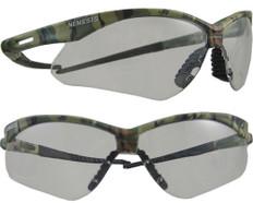 Jackson #3020706 Nemesis CAMO Safety Eyewear w/ Fog Free Clear Lens