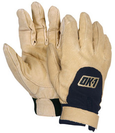 OK-FAV Anti-Vibration / Impact Gloves - Full Finger, Left Hand Only