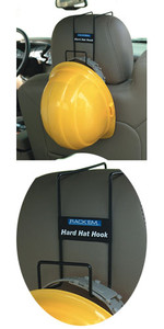 Rackems #5002 Safety Helmet Over Seat Rack
