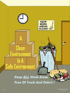 Clean Environment Safety Poster - 18X24