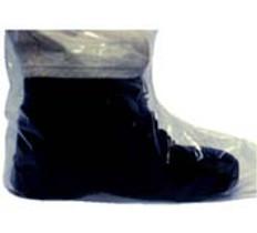 Plastic Boot Covers 4 Mil Plastic (10 PAIR SAMPLE PACK)