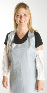 Promax Aprons, 28 by 36 inches, White (100 ea)