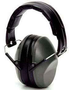 Pyramex Black Earmuff NRR 22B