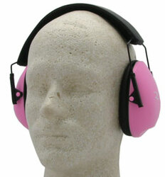 Radians Clam Shell Earmuffs Pink (NRR21)