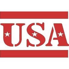 Reflective Safety Helmet Decals with Custom Design - USA