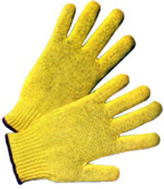 Regular weight 100% Kevlar® Fiber Gloves with Knit Wrist (SOLD BY THE PAIR)