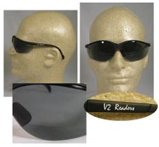 Pyramex #SB1820R25 Venture II Readers Safety Eyewear w/ 2.5 Smoke Lens