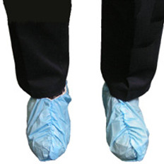 Shoe Cover, Impervious, Seemless Bottom, Non Linting & Skid Resistant (150 Pair)
