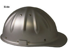 Aluminum Cap Style Hard Hats w/Ratchet Suspension