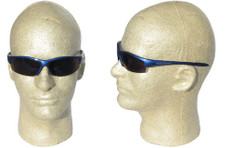 Smith and Wesson #3016311 Equalizer Safety Eyewear Blue Frame w/ Blue Mirror Lens