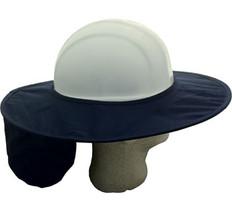 Occunomix #899-018 Safety Helmet Stow Away Shades Blue