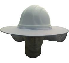 Occunomix #899-008 Safety Helmet Stow Away Shades White