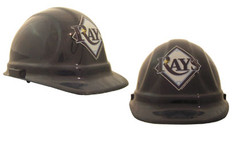 Tampa Bay Devil Rays Safety Helmets with lock suspension