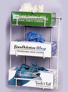 Top Dispensing Exam Glove Rack, Holds 3 Boxes