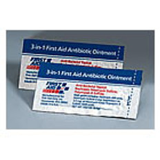 Triple antibiotic ointment pack,1/32 ounce (10 p/Box)