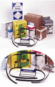 Universal Dispenser Box Rack, Velcro Straps