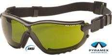 Pyramex #GB1860SFT V2G Safety Eyewear w/ 3.0 Green Lens