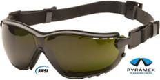 Pyramex #GB1850SFT V2G Safety Eyewear w/ 5.0 Green Lens