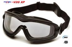 Pyramex #GB6410SDT V2G-XP Safety Eyewear w/ Fog Free Clear Lens