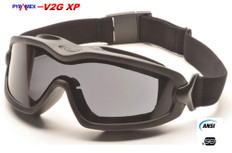 Pyramex #GB6420SDT V2G-XP Safety Eyewear w/ Fog Free Smoke Lens