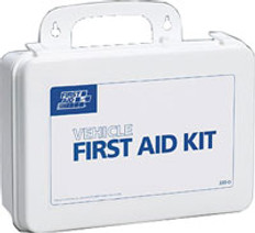 Vehicle First Aid Kit - 93 Piece - Plastic Case