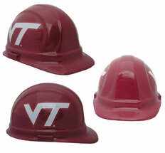 Virginia Tech Hokies Safety Helmets