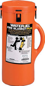 Water Jel® Fire Blanket-Plus In Canister 6X5