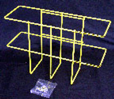 Right To Know Wire Rack for MSDS Binder (Includes Drywall Mounting Hardware)