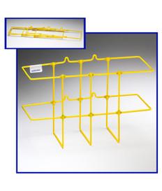 Yellow MSDS/RTK 3-Ring Binder Rack