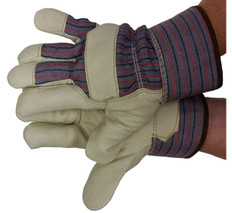 Premium Pigskin with Thinsulate Lining & Safety Cuff (sold by the pair)