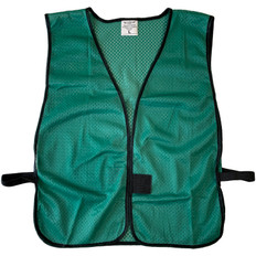Safety Vest Plain Soft Mesh - Dark Green