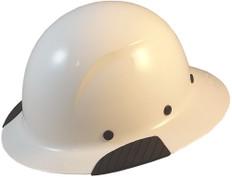DAX Fiberglass Composite Full Brim Hard Hat - White