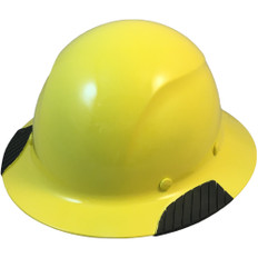 DAX Fiberglass Composite Full Brim Hard Hat - Yellow