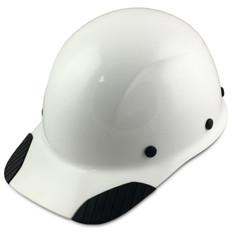 DAX Fiberglass Composite Cap Style Hard Hat - White