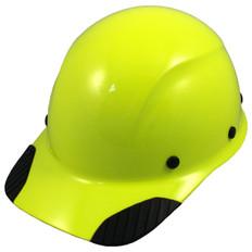 DAX Fiberglass Composite Cap Style Hard Hat - Factory Hi Viz Lime