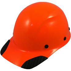 DAX Fiberglass Composite Cap Style Hard Hat - Factory Hi Viz Orange