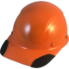 DAX Carbon Fiber Cap Style Hard Hat - Hi Viz Orange