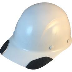 DAX Carbon Fiber Cap Style Hard Hat - White