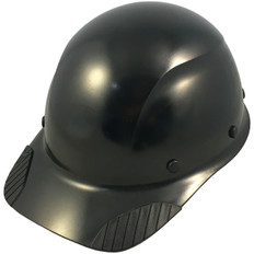 DAX Fiberglass Composite Shell Cap Style Hard Hat - Factory Black