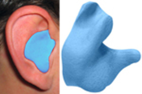 Radians Custom Molded Earplugs Blue Color
