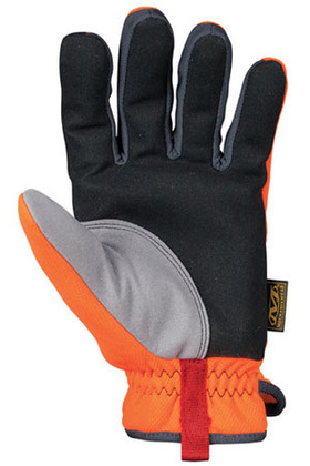 1 Pair of FastFit Gloves Hi Viz Orange Mechanix Wear SFF-99