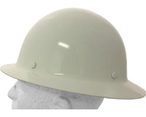 Brand  MSA. MSA   475408 Skullgard Full Brim Hard Hat ~ RATCHET Liners ~  White e8e0be608400