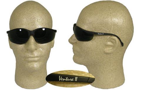 Pyramex #SB1850SF Venture II Safety Eyewear w/ 5.0 Green Lens