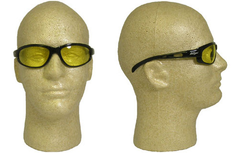 Edge #sw112 Dakura Safety Eyewear w/ Amber Lens