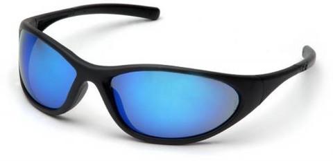 Pyramex #SB3365E Zone II Safety Eyewear w/ Blue Mirror Lens