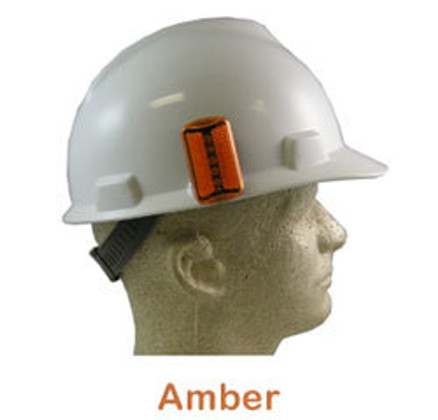 ERB #10030 Safety Helmet Blinking Lights - Amber
