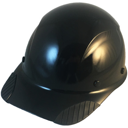 DAX Fiberglass Composite Cap Style Hard Hat - Black