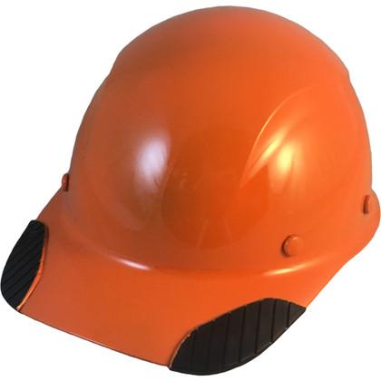 DAX Fiberglass Composite Cap Style Hard Hat - Hi Viz Orange
