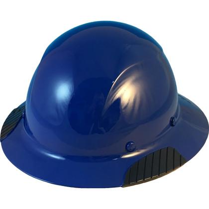 DAX Fiberglass Composite Full Brim Hard Hat - Royal Blue